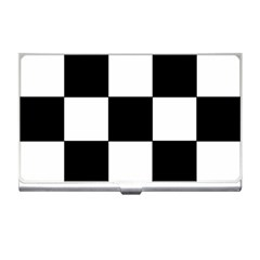 Grid Domino Bank And Black Business Card Holders