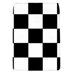 Grid Domino Bank And Black Flap Covers (s)