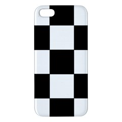 Grid Domino Bank And Black Iphone 5s/ Se Premium Hardshell Case