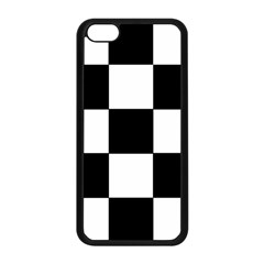 Grid Domino Bank And Black Apple Iphone 5c Seamless Case (black)