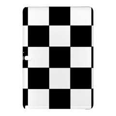 Grid Domino Bank And Black Samsung Galaxy Tab Pro 12 2 Hardshell Case