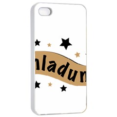 Einladung Lettering Invitation Banner Apple Iphone 4/4s Seamless Case (white)
