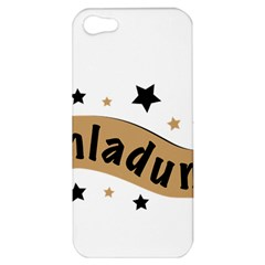 Einladung Lettering Invitation Banner Apple Iphone 5 Hardshell Case