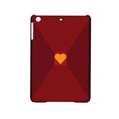 Heart Red Yellow Love Card Design Ipad Mini 2 Hardshell Cases