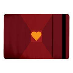 Heart Red Yellow Love Card Design Samsung Galaxy Tab Pro 10 1  Flip Case