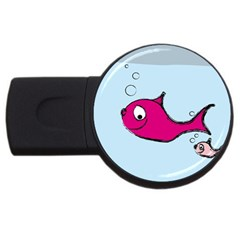 Fish Swarm Meeresbewohner Creature Usb Flash Drive Round (4 Gb)