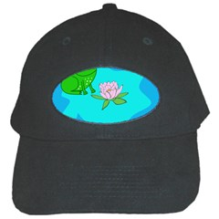 Frog Flower Lilypad Lily Pad Water Black Cap