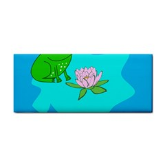 Frog Flower Lilypad Lily Pad Water Cosmetic Storage Cases