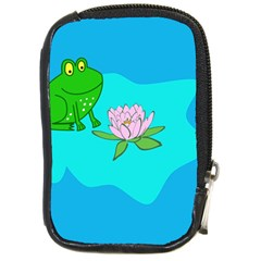 Frog Flower Lilypad Lily Pad Water Compact Camera Cases