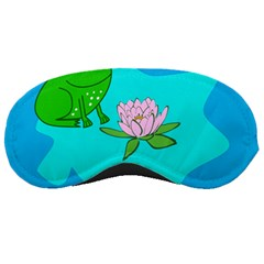Frog Flower Lilypad Lily Pad Water Sleeping Masks