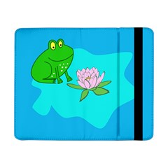 Frog Flower Lilypad Lily Pad Water Samsung Galaxy Tab Pro 8 4  Flip Case