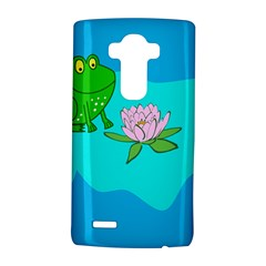 Frog Flower Lilypad Lily Pad Water Lg G4 Hardshell Case