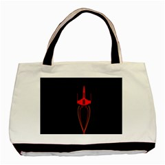 Ship Space Spaceship Basic Tote Bag (two Sides)