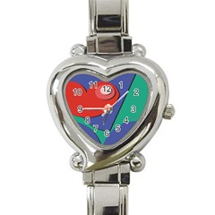 Clipart Portrait Illustration Heart Italian Charm Watch