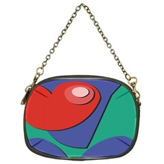 Clipart Portrait Illustration Chain Purses (one Side)