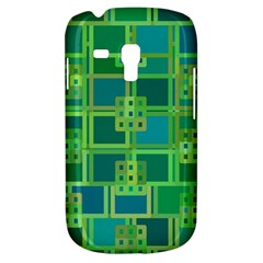 Green Abstract Geometric Galaxy S3 Mini