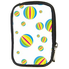 Balloon Ball District Colorful Compact Camera Cases