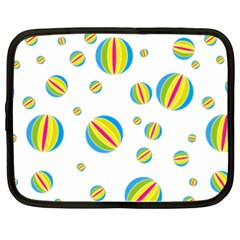 Balloon Ball District Colorful Netbook Case (xl)