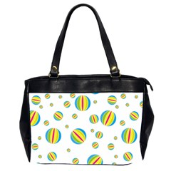Balloon Ball District Colorful Office Handbags (2 Sides)