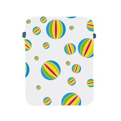 Balloon Ball District Colorful Apple Ipad 2/3/4 Protective Soft Cases