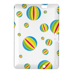 Balloon Ball District Colorful Kindle Fire Hdx 8 9  Hardshell Case