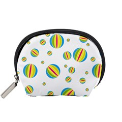 Balloon Ball District Colorful Accessory Pouches (small)