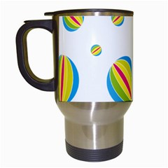 Balloon Ball District Colorful Travel Mugs (white)