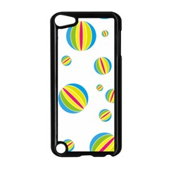 Balloon Ball District Colorful Apple Ipod Touch 5 Case (black)