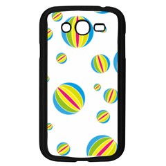 Balloon Ball District Colorful Samsung Galaxy Grand Duos I9082 Case (black)