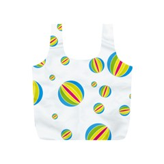 Balloon Ball District Colorful Full Print Recycle Bags (s)