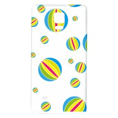 Balloon Ball District Colorful Galaxy Note 4 Back Case