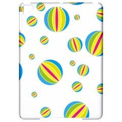 Balloon Ball District Colorful Apple Ipad Pro 9 7   Hardshell Case