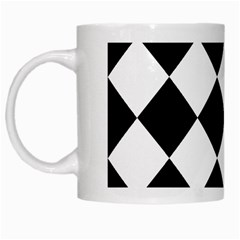 Grid Domino Bank And Black White Mugs