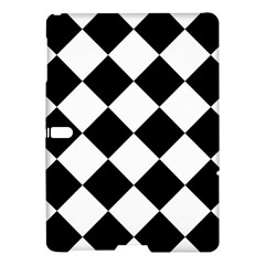 Grid Domino Bank And Black Samsung Galaxy Tab S (10 5 ) Hardshell Case