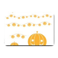 Pumpkin Halloween Deco Garland Small Doormat