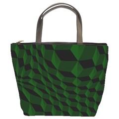 Pattern Dark Texture Background Bucket Bags