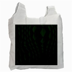 Pattern Dark Texture Background Recycle Bag (one Side)