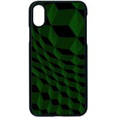 Pattern Dark Texture Background Apple Iphone X Seamless Case (black)