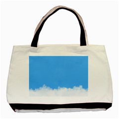 Sky Blue Blue Sky Clouds Day Basic Tote Bag