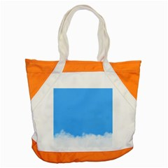 Sky Blue Blue Sky Clouds Day Accent Tote Bag