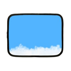 Sky Blue Blue Sky Clouds Day Netbook Case (small)