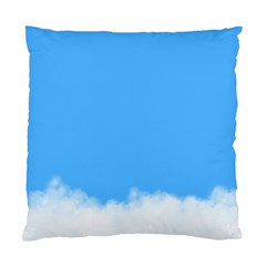 Sky Blue Blue Sky Clouds Day Standard Cushion Case (one Side)