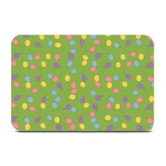 Balloon Grass Party Green Purple Plate Mats