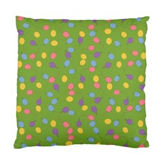 Balloon Grass Party Green Purple Standard Cushion Case (one Side)