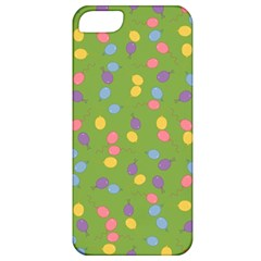 Balloon Grass Party Green Purple Apple Iphone 5 Classic Hardshell Case