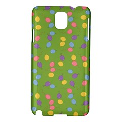 Balloon Grass Party Green Purple Samsung Galaxy Note 3 N9005 Hardshell Case
