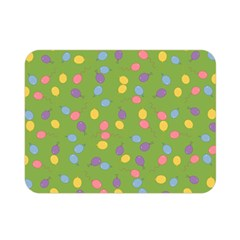 Balloon Grass Party Green Purple Double Sided Flano Blanket (mini)