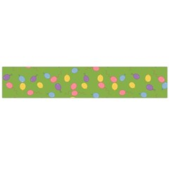 Balloon Grass Party Green Purple Large Flano Scarf