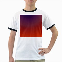 Course Colorful Pattern Abstract Ringer T Shirts