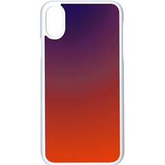Course Colorful Pattern Abstract Apple Iphone X Seamless Case (white)